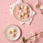 피나포레 x DIA FOOD 순백설탕 벚꽃 마카롱