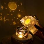 크리스마스 LED시크릿 빔 무드등 블루투스 스피커