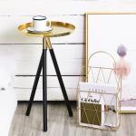 원형 골드 쇼파 거실 침대 티테이블 사이드 테이블