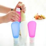 여행용 실리콘용기 화장품용기 삼푸통 소분용기