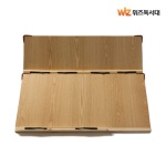 위즈독서대 루미60 2단독서대 60M2 (브라운)