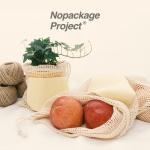 NPE 휴대용 장바구니 과일채소 그물망 네트 백