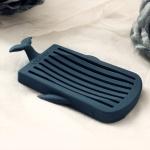 미킵 실리콘 고래 비누받침대 욕실 화장실 비누 케이스 홀더 트레이 인테리어 소품