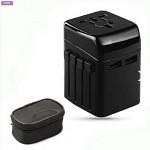여행용 멀티 어댑터(플러그 4개,초고속 USB포트)/아답터