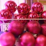크리스마스 장식볼 오너먼트 8cm 8입 (푸치샤)
