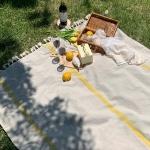피크닉매트 - Lemon Cake