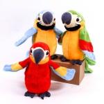 말하는 앵무새 인형 장난감 말따라하는 소리나는 선물