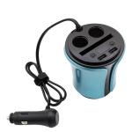 차량용 멀티 충전기 / 2 USB 2 시거잭 어댑터 LCWK363