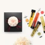 카네이션 꽃장식 - 수제청 샘플러