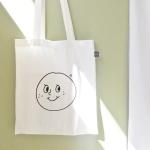 오롤리데이 cotton bag/smile bag