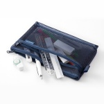 [LIMITED COLOR] Mesh Pouch - Navy