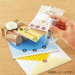 [KOKUYO] 다이어리,앨범,봉투,선물포장에.. 일본 고쿠요 꾸미기 스티커 Donut seal stamp HC412