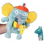 에불로보 프랑스 국민 애착인형 코끼리와 두 손가락