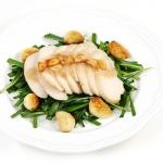 [허닭] 오리지날 슬라이스 닭가슴살 마늘맛 200g