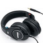 [SHURE/삼아무역정품] SHURE 슈어 SRH840 프로 모니터링용 밀폐형 헤드폰