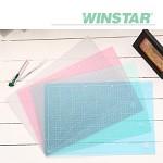 윈스타 PVC 반투명 커팅 매트 A3 450X300[OH00032792]