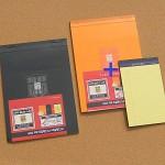 커버가 품격을 더해주는 브랜빌-옥스포드 A4 70매 Cover 리갈패드 5권 HA754-1