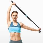 백포스쳐 숄더 스트레칭 밴드/강도조절 어깨교정운동