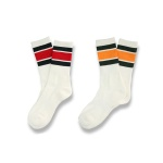 [2PACK] 1507 스케이트삭스 2COLOR STRIPE SOCKS