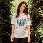 야자수 티셔츠 화이트