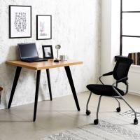 블랙 인더밴 900 철제 책상 컴퓨터테이블