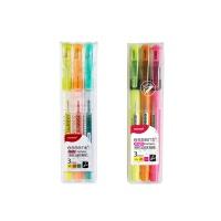모나미 에센티 소프트 브라이트 3색세트 형광펜[OH00400819]