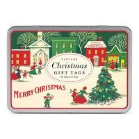 카발리니 기프트택 - 빈티지 크리스마스