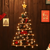 크리스마스 우든 벽트리 풀세트 (솔나무)