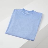 캐피디자인 피그먼트티셔츠 (블루)