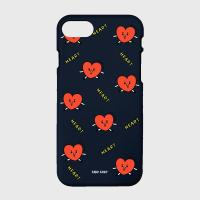 Pattern heart-navy(color jelly)