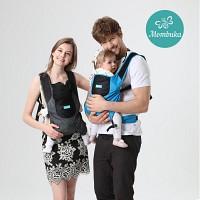 맘부카 초경량 휴대용 아기띠 + 순면패드포함