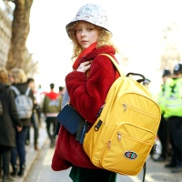 Funky Backpack 백팩 - Mustard