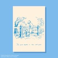 [디즈니] A3 포스터 - 곰돌이 푸 (no.5)