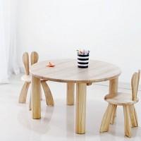 [벤트리]원형 어린이 공부책상 테이블
