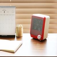 미니 PTC 온풍기 MF-1580FH - 레드