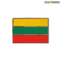 리투아니아 국기 뺏지