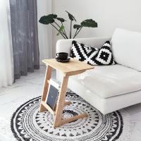 벤트리 원목 라운디시 소파 사이드 테이블 550