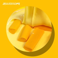 [젤시스슬라임] 치즈라떼 / 글루올지글리 / 210ml
