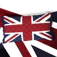 영국 유니온잭 퀄팅 면 메밀베개