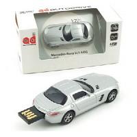 1/72 메르세데스 벤츠 SLS AMG USB 16GB (WE002169SI) USB 메모리 모형자동차