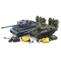 1/28 T-34 vs TIGER (YAK161324SET) 배틀탱크 세트 무선모형 RC