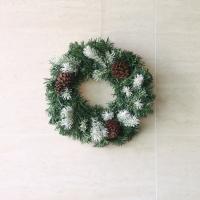 Hm2023 솔방울 투톤리스80cm 크리스마스 재료