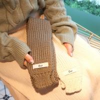 쁘띠 미니 니트 목도리 8color 갓샵 숏 뜨개 머플러