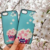 DPARKS 벚꽃팝콘 갤럭시S8 BLACK CASE