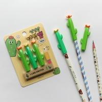 핑크풋 1000선인장연필캡(3p)