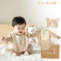 [CONY]오가닉 출산백일선물세트 특가 4종택1+선물박스