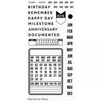 클리어 스탬프 LLD Journal It - Pocket Calendar