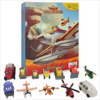 Disney Planes : Fire & Rescue My Busy Book 비행기 피규어북