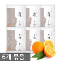 가성비 좋은 모래 4L 오렌지향 X6