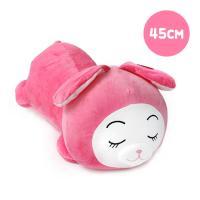 둥이둥이쿠션 핑크토끼-소형(45cm)
